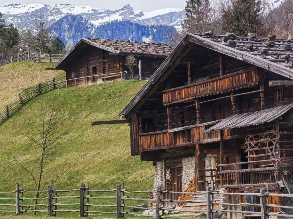 Top Ausflugziel Alpbachtal - das Höfemuseum Kramsach
