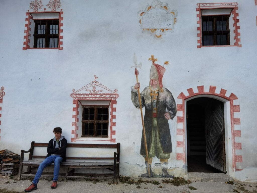 Der feudale Falkner Schaiter Hof im Freilichtmuseum Kramsach