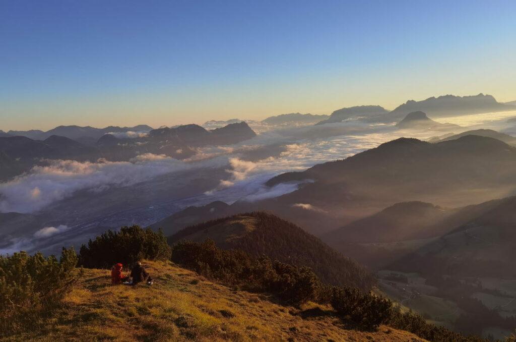 Beliebtester Aussichtsberg im Alpbachtal - die Gratlspitze (1899 m)