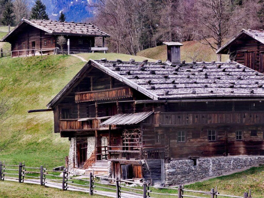 Auch das größte Freilichtmuseum in Tirol findest du hier im Alpbachtal