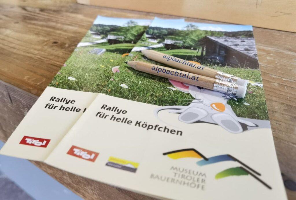 Tipp mit Kindern: Die Museumsrallye im Freilichtmuseum Tirol