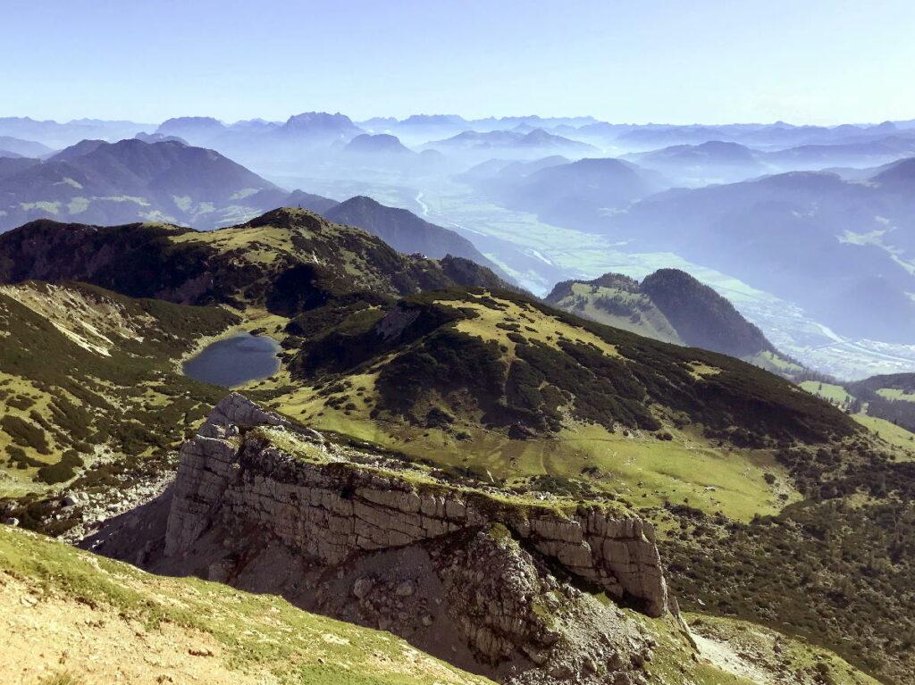 Auch das ist die Ferienregion Alpbachtal - der Zireiner See im Rofan